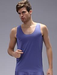 Men's Ice Silk Undershirt