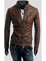 Playgame Men's Casual Stand Collor Jacket