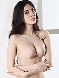 Sexy bretelles silicone invisible soutien-gorge push-up des femmes (plus de couleurs)