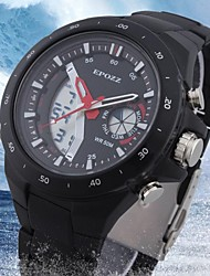 Men's LCD Water Resistant Analog-Digital Fashion Military Watch for Sports(Assorted Colors)