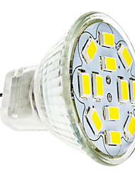 6W GU4(MR11) Spot LED 12 SMD 5730 570 lm Blanc Chaud / Blanc Froid DC 12 V