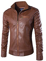 Men PU Outerwear