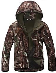 ESDY peu v 4,0 hommes de chasse en plein air de camping manteaux imperméables vêtements de l'armée capuche soft shell vestes polaire de camouflage