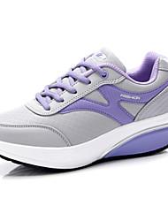 Women's Walking Shoes Leatherette Pink/Purple