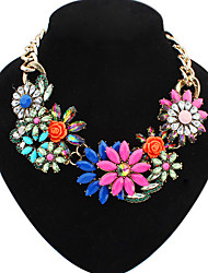 Colorful day  Women's European and American fashion necklace-0526049