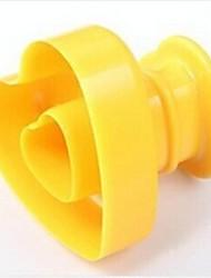 Herzform Donut Formen, Kunststoff 15 x 15 x 10 cm (6,0 x 6,0 x 4,0 Zoll)