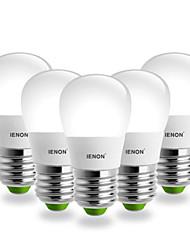 E26/E27 LED Globe Bulbs S14 SMD 240-270 lm Cool White AC 100-240 V 5 pcs