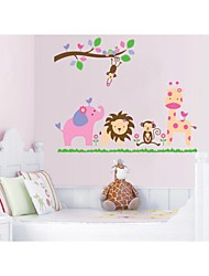 Wall Stickers Wall Decals, Style Animal Kingdom PVC Wall Stickers