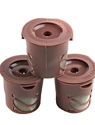 Handy Portable PVC Coffee Filters Small Spoon 3PCS