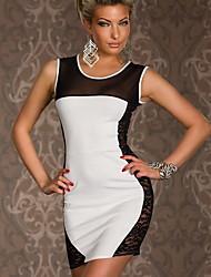 Aiyifan Sexy Lace Bodycon Dress