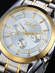 WINNER® Men's 6 Pointers Auto Mechanical Water Resistant Calendar Stainless Steel Wrist Watch Cool Watch Unique Watch Fashion Watch