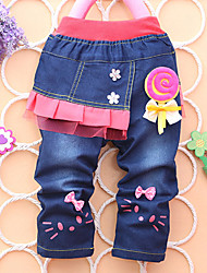 Girl's Fashion Jeans  Lovely Jeans