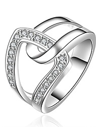 Meles Women's Fashion Diamond Rings