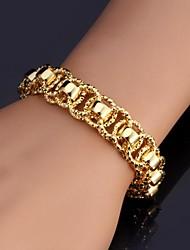 mooie hete verkoop armband 18k chunky gouden platina vergulde armband armband voor vrouwen mannen van hoge kwaliteit