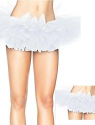 Costumes de Cosplay / Costume de Soirée Cosplay Fête / Célébration Déguisement Halloween Blanc Couleur Pleine JupeHalloween / Carnaval /