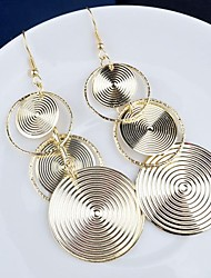 Drop Earrings Alloy Statement Jewelry Jewelry 2pcs