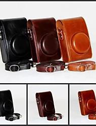dengpin retro-PU-Lederöl Hautkamera Schutztasche Tasche Cover für Ricoh GR Digital Kamera