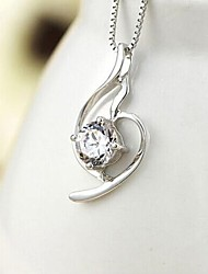 Women's Beautiful Angel Diamond Pendent Alloy Necklace(No Chain)