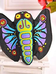 Perros Juguetes Juguete Mordedor Mariposa Textil Multicolor