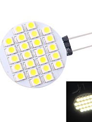 Focos/Luces de Doble Pin G4 1.5 W 24 SMD 3528 110 LM 6000 K Blanco Natural DC 12 V