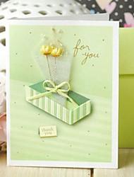 Bouquet Mini Thank You Card Gift Card