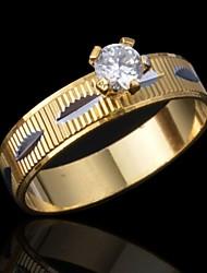 la mode de qualité x croix diamants bague de femme
