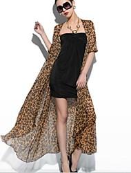 Women's Fashion Animal Print Coat
