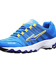 Men's Running Shoes Fabric Blue/Multi-color