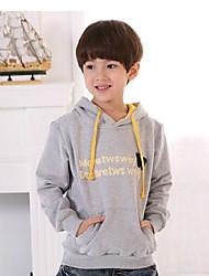 grande version coréenne nouvelle de vêtements d'hiver des garçons plus de velours chandail à capuchon occasionnel