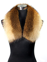 Fur Wrap Fashion Women's Raccoon Fur Wrap