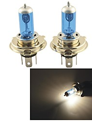 Carking™H4 100W/90W 5000K 1100LM Ultra Warm White Halogen Headlight Bulbs (12V / Pair)