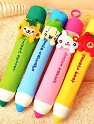 lápiz suave caso de lápiz de maquillaje cosmético de los niños bolsa bolsa de favores de la boda de bienvenida al bebé de retorno de regalo de