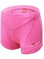 West biking® Fahrrad Radfahren Unterwäsche 3d Gelkissen unter Pad schwarz pink Slip Soft dynamische weibliche Größe S-XL Shorts