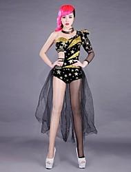 мода сексуальные полюса танец джаз костюм ночь певица DS ведущий танцор костюм