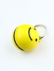 Dog tags Cute Smile Collar Bell for Dogs Cats