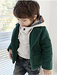 Boy's Cotton Blend Suit & Blazer,Winter / Spring / Fall Solid