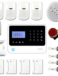 App Controlled Wireless&Wired GSM Autodial Home Alarm System +Smoke Sensor