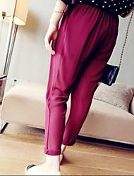 pantalones sueltos de moda femenina