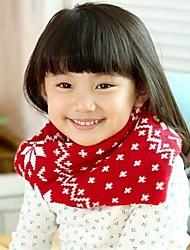 Moda Doce lenços floco de neve da menina
