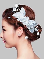 Headpieces Wedding Flower Women's  Circlets