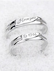 1314 opening couple rings personalized rings