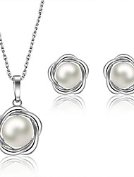 Wedding / Party / Casual-Necklaces / Earrings(Pearl)