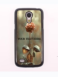 Personalized Phone Case - Rose Design Metal Case for Samsung Galaxy S4