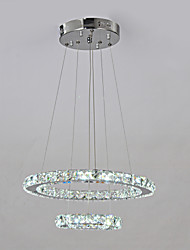 K9 Crystal Quartet Beads With Double Circle Design Chandelier
