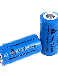1200mAh 16340 Rechargeable Battery (1pcs)