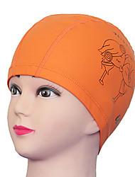 Youyou Kid's Cartoon Waterproof Anti-Slip Hair Protection Ear Protection Wearable Swimming Cap