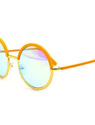 Anti-Fog Round Metal Retro Sunglasses