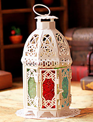 European Style Colorful Octagon Candle Holder