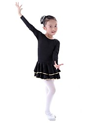 Ballet Kid's Dance Long Sleeve Dress(More Colors) Kids Dance Costumes