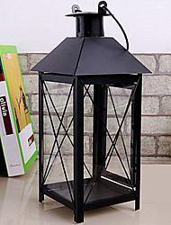 Romantic Warm Retro Black Candle Holder